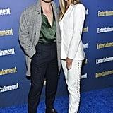 Dacre Montgomery and Liv Pollock at EW's 2020 SAG Awards Preparty