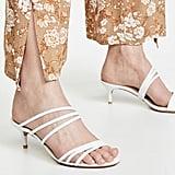 Alexandre Birman Strappy New Kitten Sandals