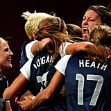 The US-Canada women's soccer match was one for the books! The two teams played their hearts out all the way into overtime. In the end, it was Team USA who advanced to the finals.