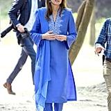 Kate Middleton Wearing Maheen Khan