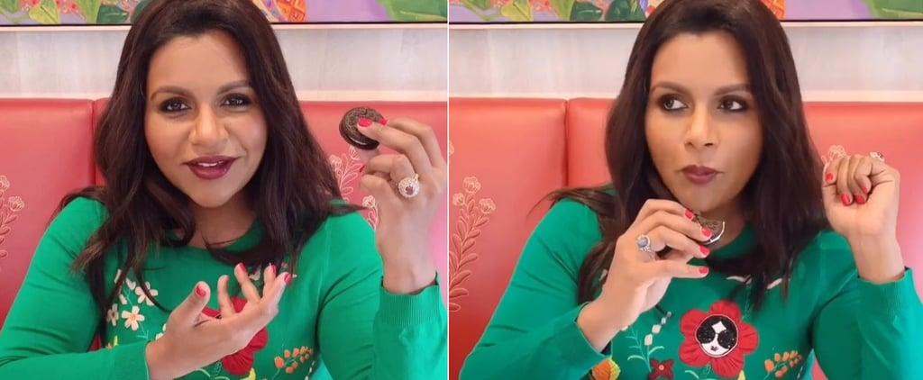 Mindy Kaling Ranks Oreo Flavors on Instagram