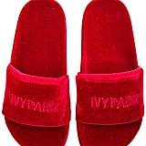 Ivy Park Velvet Sandals