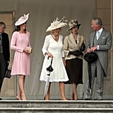 First Buckingham Palace Garden Party