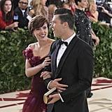 Scarlett Johansson and Colin Jost — 2018