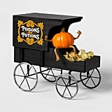 Poisons and Potions Wood Horse Wagon Halloween Decoration