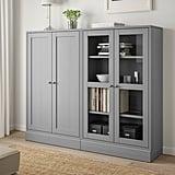 Havsta Storage Combination With Glass Doors