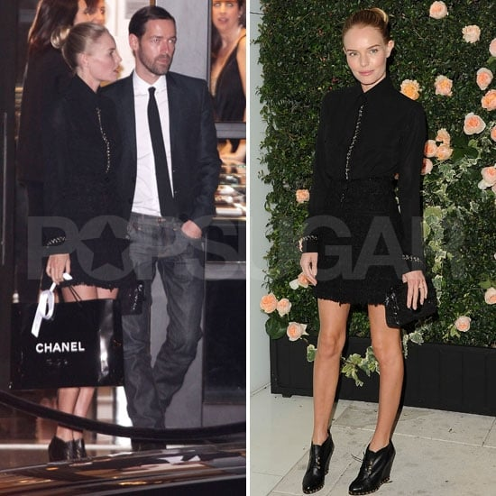 Kate Bosworth and Michael Polish Have a Chanel Date Night