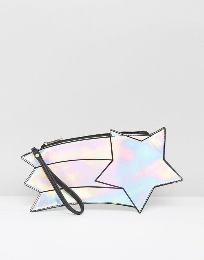 Shooting Star Clutch Bag