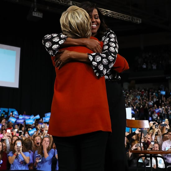 Michelle Obama Speech Campaigning With Hillary Clinton