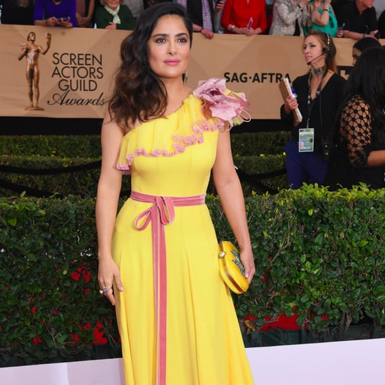 Salma Hayek's Gucci Dress at the 2017 SAG Awards