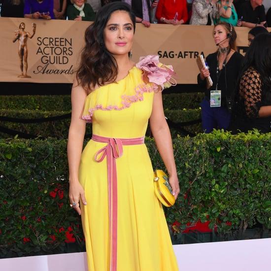 Salma Hayek's Gucci Dress at the 2017 SAG Awards