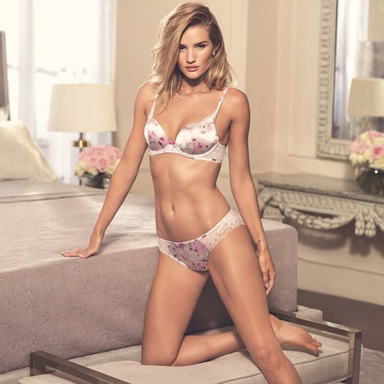 Rosie Huntington-Whiteley Marks and Spencer Lingerie Shoot