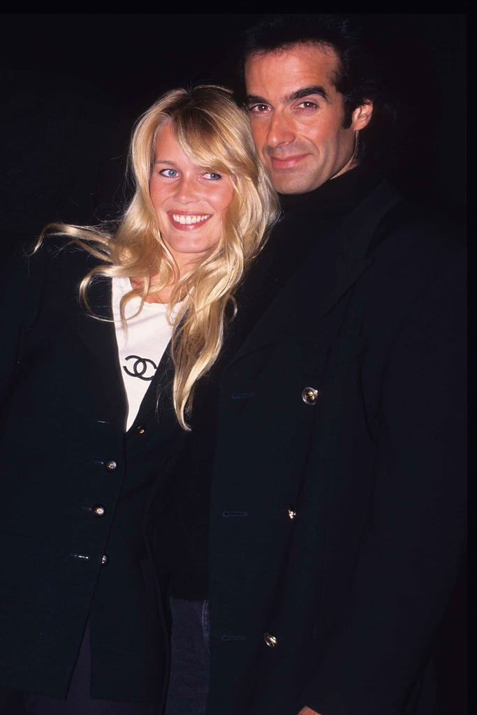 Claudia schiffer and david copperfield celebrity couples from the claudia schiffer and david copperfield m4hsunfo