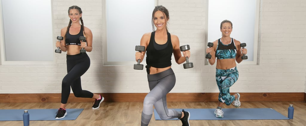 30-Minute Bootcamp Workout With Weights