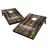 NFL Wild Sports 2'x3' Barnwood Bean Bag Toss
