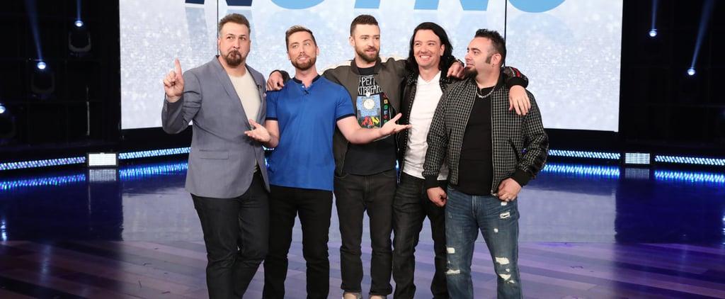 NSYNC Surprises Fans on The Ellen Show