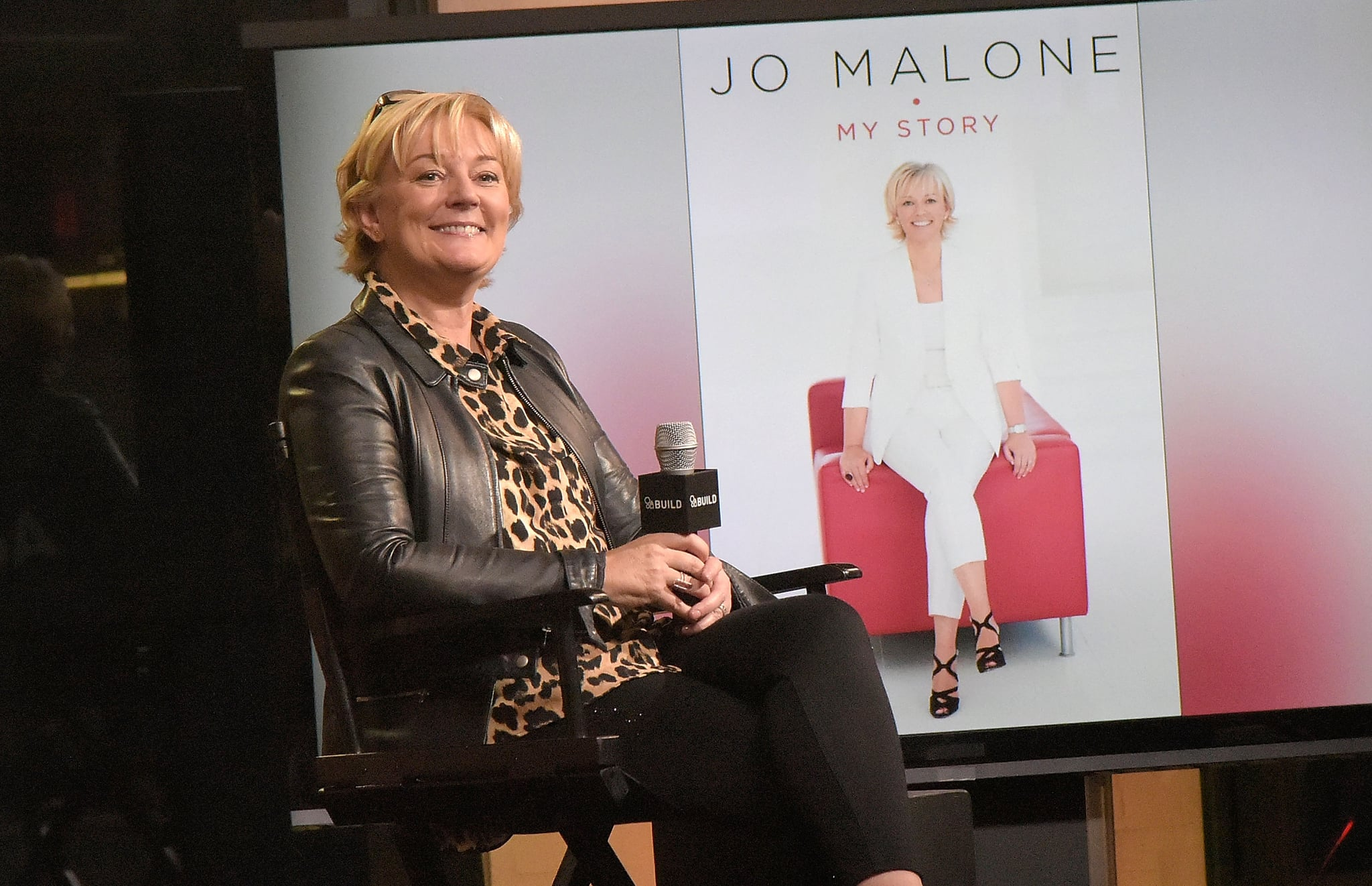 NEW YORK, NY - DECEMBER 01:  Jo Malone attends The Build Series to discuss