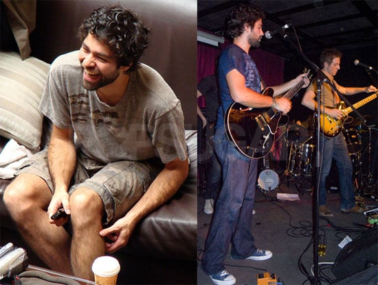 Photos of Adrian Grenier and His Band the Honey Brothers in Australia