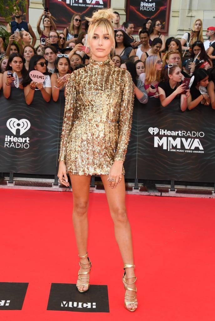 Hailey Baldwin Kayat Dress At Much Music Video Awards 2016