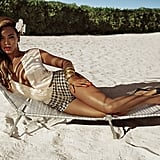 "Beyoncé is the face of the H&M Summer collection, and the campaign was shot on location in the Bahamas by photographers Inez van Lamsweerde and Vinoodh Matadin. ""In the campaign, Beyoncé is wearing the key pieces from H&M you need for lying in the sun this Summer,"" says Ann-Sofie Johansson, the head of design at H&M. The Summer campaign features swimwear and beachwear pieces, including a tie-dye bikini from the H&M For Water collection. Twenty-five percent of sales from the H&M For Water collection will be donated to WaterAid."