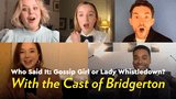 Bridgerton Cast Video Interview