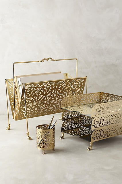 Anthropologie casimira desk accessories 18 stylish for Home decorating like anthropologie