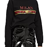 Topshop Milan Graphic Sweatshirt