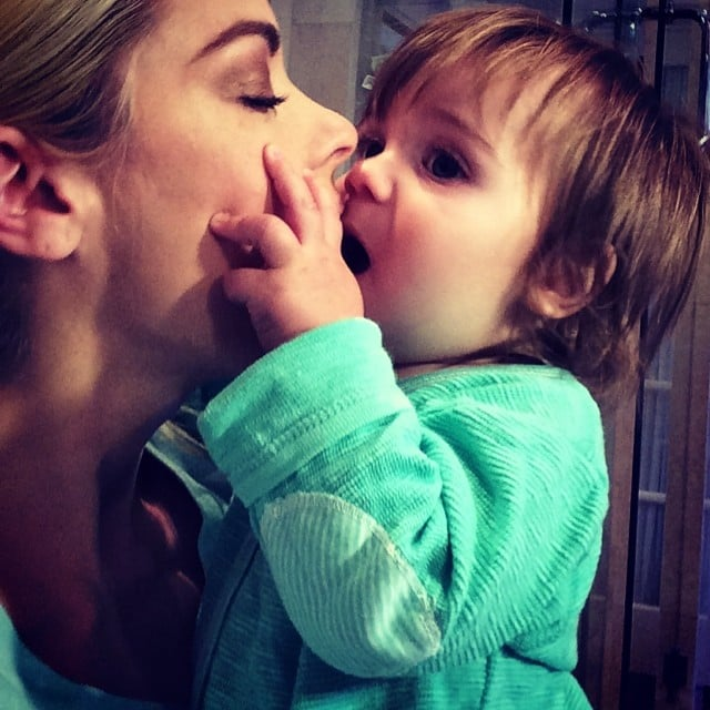 Jaime King ate up her adorable son James, and we can't blame her either. Source: Instagram user jaime_king
