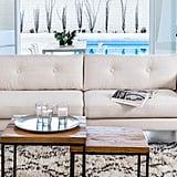 Article Emil Quartz White Sofa