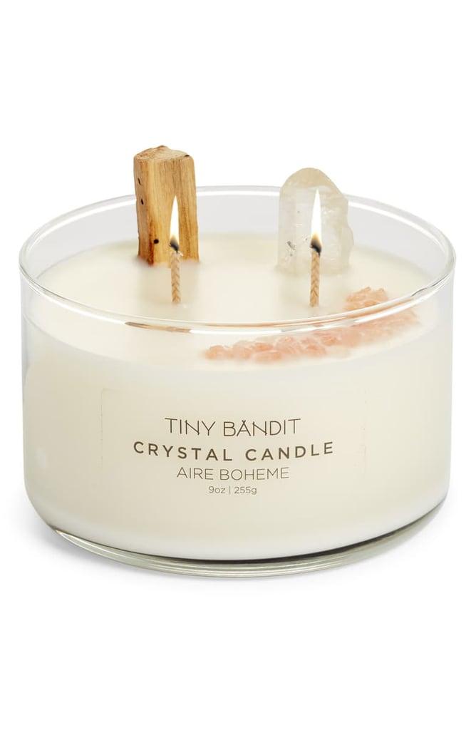Tiny Bandit Crystal Candle