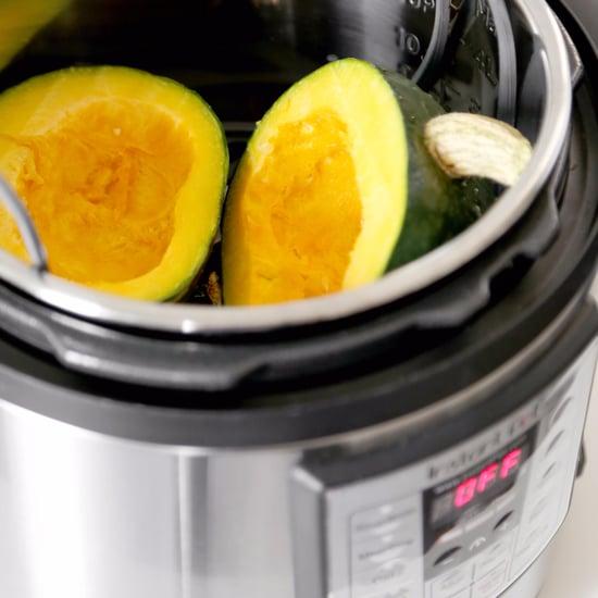 طريقة طهي القرع واليقطين بقدر الطهي البخاري الكهربائي