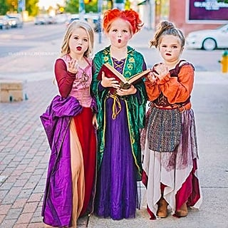 Sanderson Sisters Hocus Pocus Halloween Costume For Kids