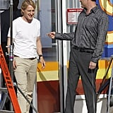 Owen Wilson and Vince Vaughn were at work on The Internship.