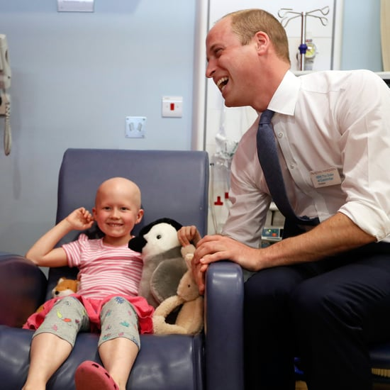 Prince William Visiting Kids in the Hospital May 2017