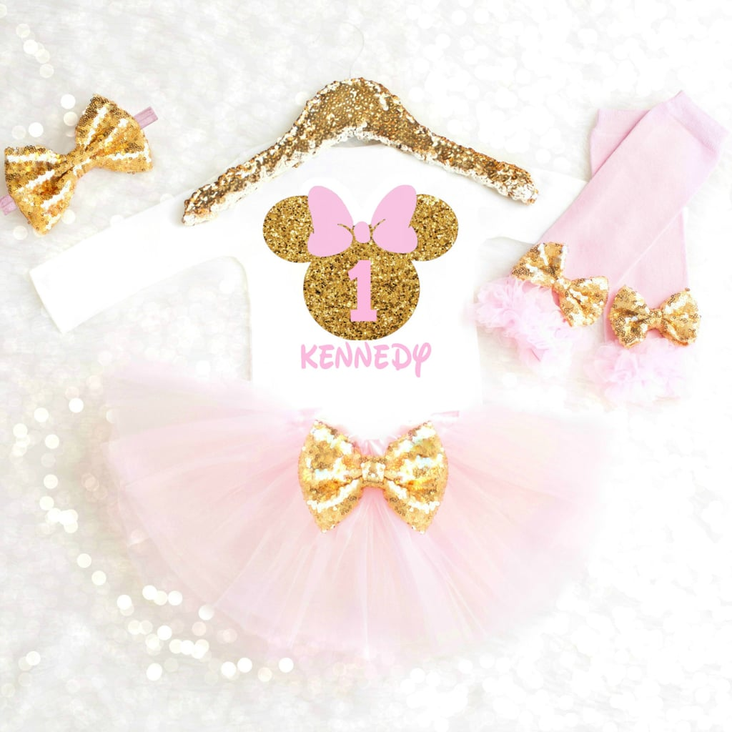 Pink Bow Minnie Mouse Minnie Mouse Paper Cut Outs Party Decorations Pink Glitter Bow Minnie Mouse Pink Glitter Bow Inspired Minnie Mouse