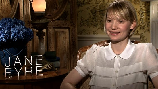 Video of Jane Eyre's Mia Wasikowska Talking About Her Hot Costars 2011-03-11 01:32:00