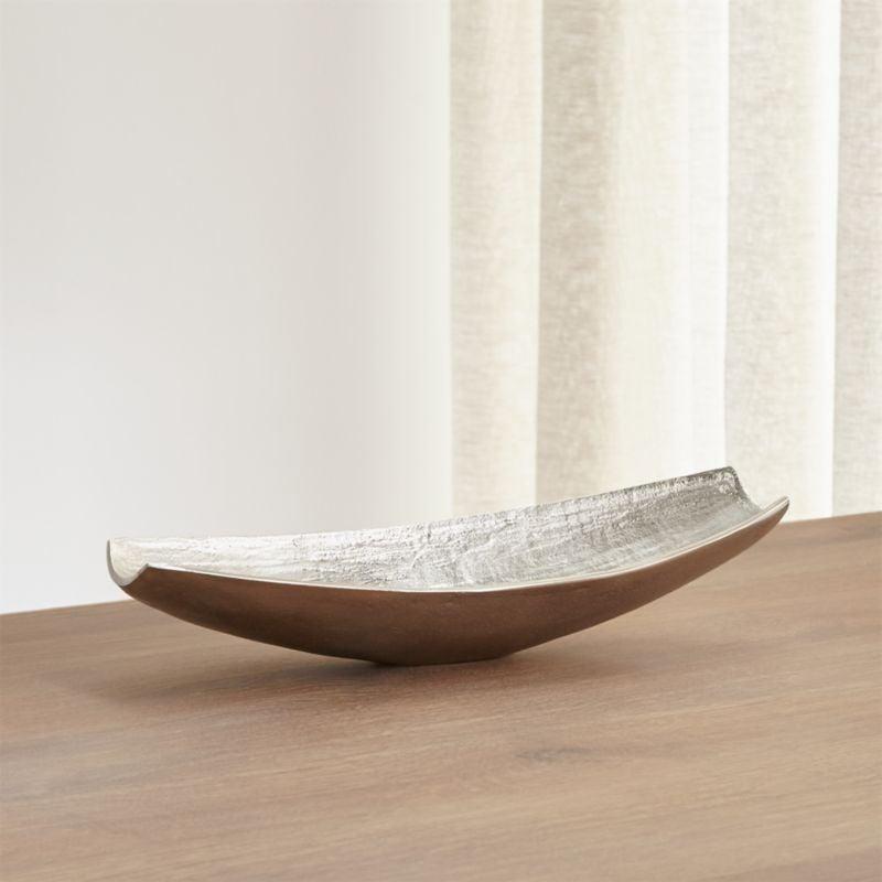 Bonnie: Allegra Centerpiece Silver Bowl