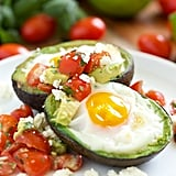 Mexican Baked Avocado Eggs