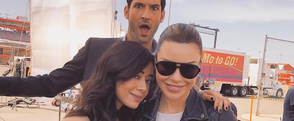 Netflix's Lucifer: Cute Pictures of the Cast Together