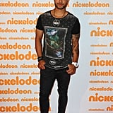 Guy Sebastian got serious on the red carpet for a minute — but not for long!