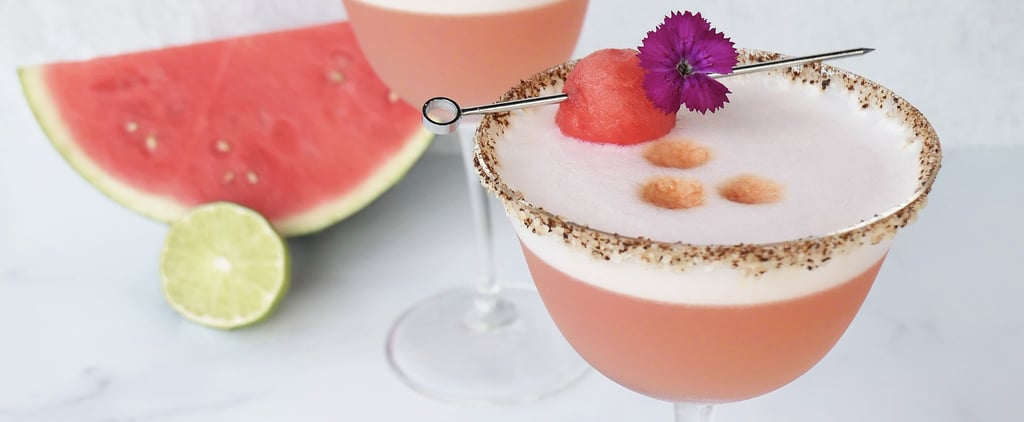 Smoky Melon Pisco Sour Cocktail Recipe With Photos