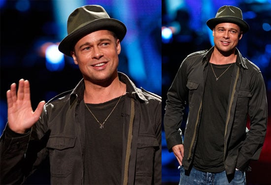 Brad Pitt Does Idol Gives Back