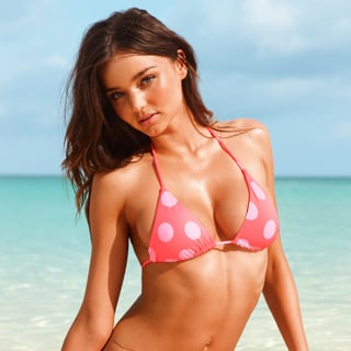 Miranda Kerr's Swimsuit Tips