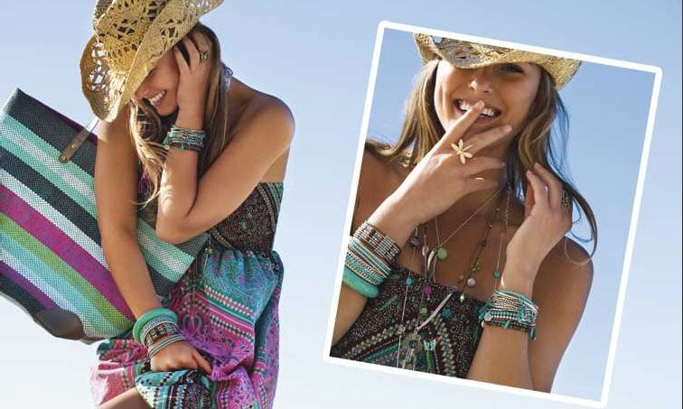 On Our Radar: Bar Refaeli for Accessorize