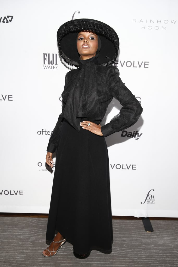Halima Aden at The Daily Front Row Fashion Media Awards During New York Fashion Week