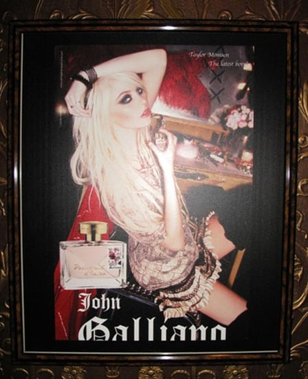 Taylor Momsen's 'Parlez Moi D'Amour' by John Galliano Perfume Ad