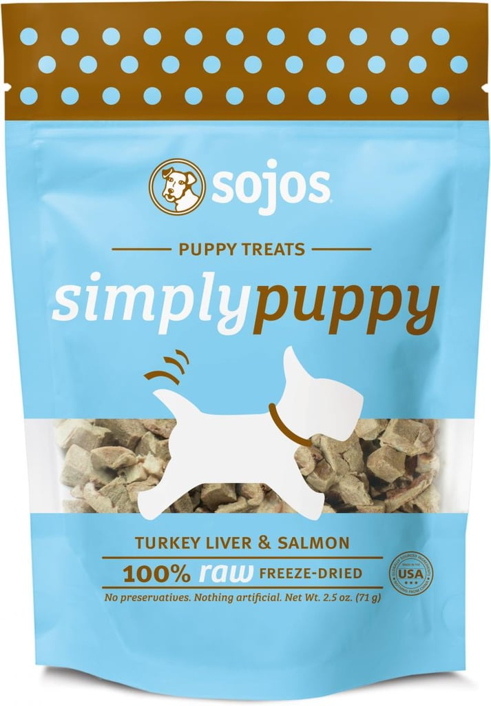 We've sung the praises of raw and grain-free pet foods for quite awhile now, so we're happy to bring you just another option for your pup. Sojos has a brand-new raw puppy treat offering coming soon to a store near you, and the freeze-dried snacks are totally healthy and delicious for your puppy.