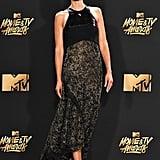 Jordana Brewster at MTV Movie and TV Awards 2017