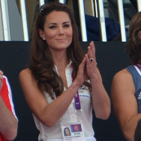 Kate Middleton Watches the Women's Field Hockey at the 2012 London Olympics