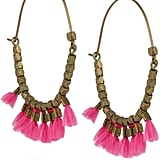 """""""These fun earrings are the quickest way to add a bohemian touch to any look. With Coachella on my mind, I'd like to style these with a lace tank, tie-dye shorts, and black sandals for a Parisian-cool ensemble."""" — Chi Chau, associate editor  Isabel Marant earrings ($175)"""